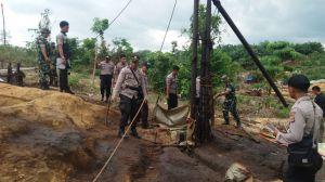 Berantas Illegal Drilling, Ratusan Lubang Minyak Ditutup Tim Gabungan di Jambi