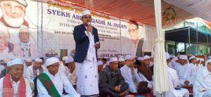 Dihadiri Belasan Ribu Massa, Haul Akbar Syekh Abdul Qodir Al Jailani Sampaikan Pesan Kemanusiaan