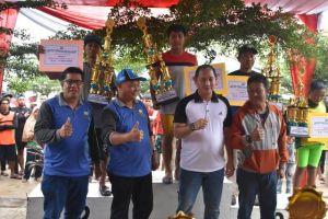 Lomba Perahu Tradisional di Danau Sipin Jambi Resmi Ditutup, Ini Pemenangnya