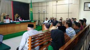 Sidang Effendi Hatta dkk Dimulai, Ini 15 Anggota DPRD 2014-2019 yang Dihadirkan JadiSaksi