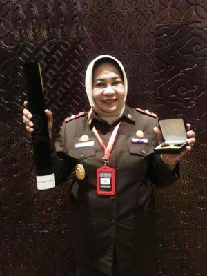 Kejati Jambi Dianugerahi Predikat Wilayah Bebas Korupsi, Lexy Fatharani: Harus Dipertahankan