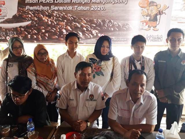 KPU Provinsi Jambi Ajak Media Sosialisasikan Tahapan Pilkada 2020