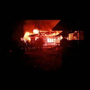 VIDEO: Kebakaran Dua Sekolah di Teluk Nilau