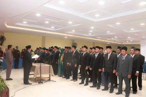 Ketua Bawaslu Tanjabbar Lantik 39 Anggota Panwascam Terpilih