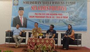 Drg Iwan ke Pelatnas Dayung Usul Nama Mutiara Danau Sipin Ditetapkan Secara Nasional