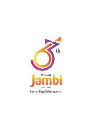 Pemprov Perkenalkan Logo Resmi HUT Jambi ke 63 Tahun 2020, Ini Maknanya