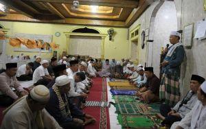 Pemkab Merangin Subuh Berjemaah di Masjid Sirotulmustakim Kelurahan Rantau Panjang Kecamatan Tabir