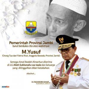 Fachrori Sampaikan Duka Wafatnya M.Yusuf, Orangtua Fachrul Rozi Anggota Bawaslu Jambi