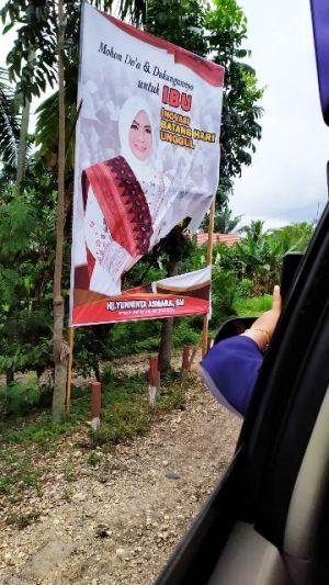 Dilapor Baliho Banyak Dirusak, Yunninta Minta Pendukungnya Tetap Tenang