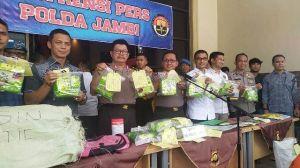 15 Kg Sabu Ditemukan Polda Jambi di Ekspedisi CS Selincah Terungkap, Ini Pemesannya
