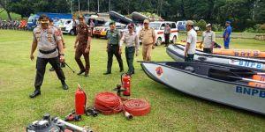 Masuki Musim Penghujan Yang Disertai Angin Kencang, Pasukan Siaga Bencana di Tanjabtim Disiapkan