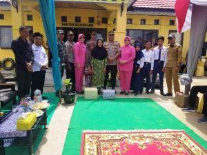 Kapolres Tanjabtim Beserta Rombongan Melakukan Kunker Di Kecamatan Sadu