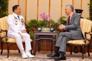 Mendagri Bertemu PM Singapura Lee Hsien Loong, Ini yang Dibahas