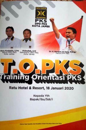Dekatkan PKS ke Masyarakat Umum, PKS Kota Jambi Hadirkan Mardani Ali Sera