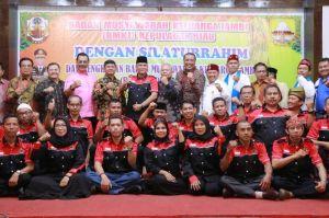 Safrial Hadiri Pengukuhan Dewan Pengurus Wilayah Bamus Keluarga Jambi di Batam