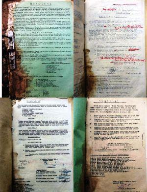 Dokumen Lama Pembentukan Jambi Sebagai Provinsi Ditemukan Di Karang Mendapo