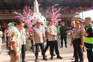 Kapolda Jambi Pantau Perayaan Imlek di Vihara Sakyakirti, Situasi Aman dan Kondusif