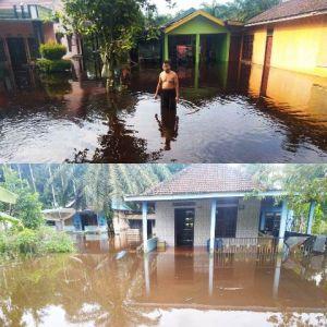 Selama Januari 2020, Tiga RT Di Kota Baru Dua Kali Terendam Banjir