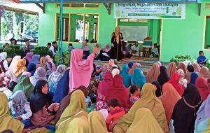 Yunninta Tampil Memukau Sampaikan Visi Misi di Hadapan Masyarakat Penerokan