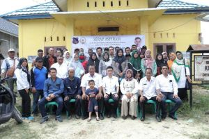 Reses Serap Aspirasi, Anggota Komisi III DPRD Tanjabbar Satria Tubagus Disambut Hangat Masyarakat