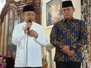 Dalam Pengukuhan Tim Sukses di Sungai Bahar, Sukandar Nyatakan Siap Jadi Wakil Cek Endra