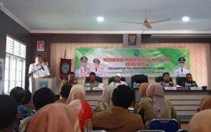 Musrembang di Kecamatan Telanaipura, KFA Apresiasi Partisipasi Masyarakat di E-Planning