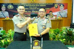 Irjen Pol Drs Firman Shanyabudi Resmi Jadi Orang Nomor Satu di Polda Jambi