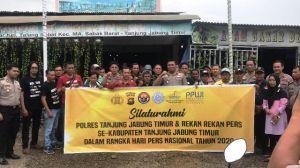Kapolres Tanjabtim mengadakan Silaturahmi Bersama
