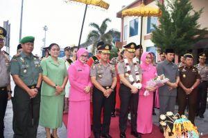 Sambut Kedatangan Kapolda Jambi, Ketua DPRD Edi Purwanto Berharap Bisa Sinergis Bangun Jambi
