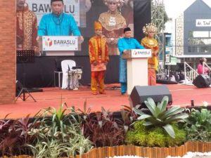 Launching Pengawasan Pilkada, Bawaslu Jambi Angkat Tema Budaya