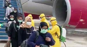 4 Orang Warga Jambi yang Dievakuasi di Natuna dari China Dipulangkan, Pemprov: Terima dengan Baik