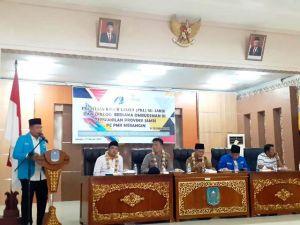 Gandeng Ombudsman RI, PMII Merangin Gelar PKL se-Provinsi Jambi