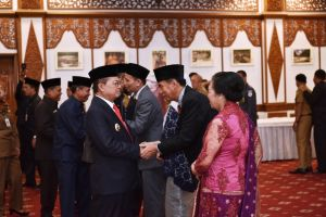 Fachrori Lantik Tiga Pejabat Pimpinan Tinggi Pratama