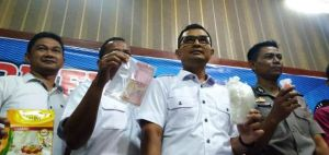 Seorang PNS Jadi Kurir Narkoba Ditangkap Polda Jambi