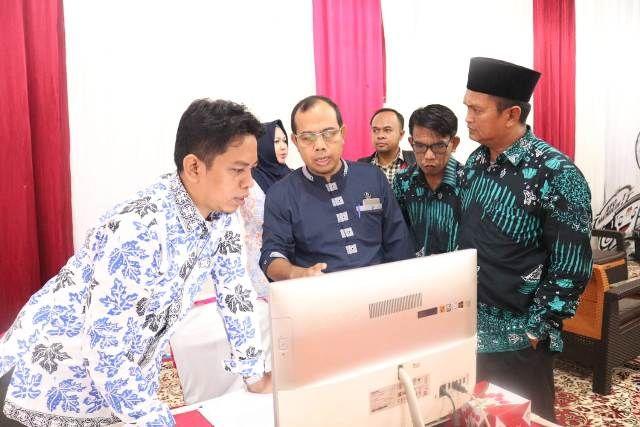 KPU Provinsi Jambi, Pantau Langsung Verifikasi Dukungan Romi-Robby