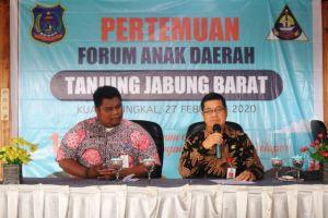 DP3AP2KB Gelar Pemilihan Ketua FAD Kabupaten Tahun 2020