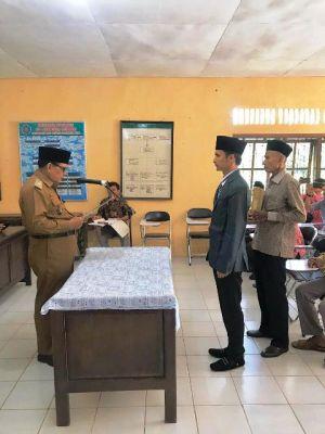 Jabat Sekretaris Desa, Mantan Gubernur BEM Pertanian Unja Resmi Dilantik