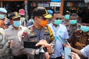 Antisipasi Lonjakan Harga di Tengah Wabah Corona, Kapolda Jambi Datangi Pasar Angso Duo