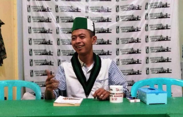 Ketua Umum Badan Koordinas (Badko) HMI Jambi Iin Habibi