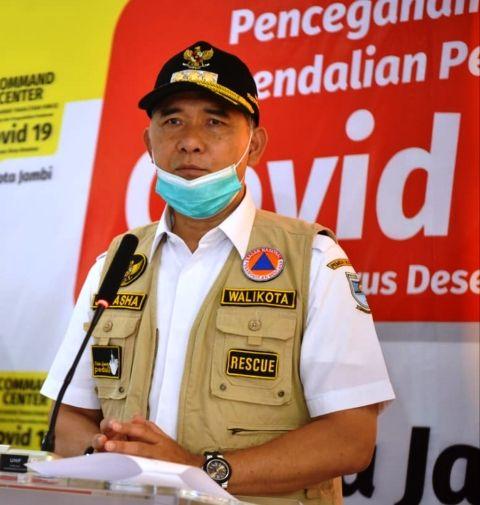 Walikota Jambi Syarif Fasha