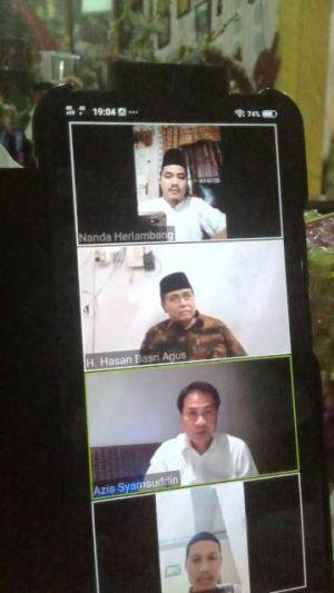Partai Kedaulatan Mahasiswa Unja Gelar Diskusi Online Hadirkan Azis Syamsuddin dan HBA
