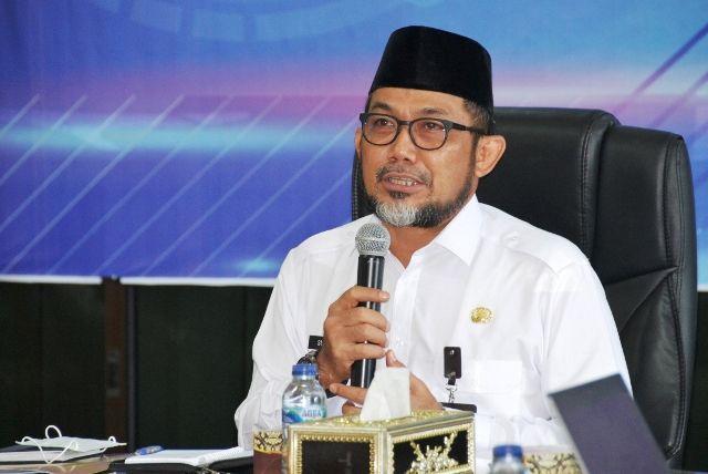 Video Conference dengan Korsupgah KPK, Sudirman: Pencegahan ...