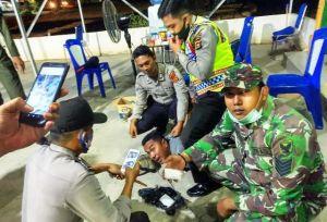 Dua Orang Pengendara Kedapatan Bawa Sabu hendak Melintas di Depan Pos Pam di Buluran Jambi
