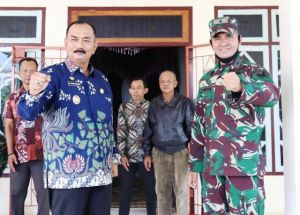 Kasdam II Sriwijaya Brigjen M Zamroni Sambangi Rumah Jabatan Wabup Tanjabbar, Amir Sakib Buka Album