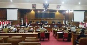 Rapat Bahas Anggaran Covid-19 Rp101 M Tertutup dan Alot Lanjut Hingga Malam