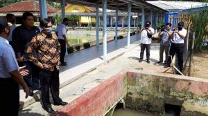 Kalapas Keluhkan Lapas Sering Kebanjiran ke Ketua DPRD Provinsi Jambi Gara-gara Ini