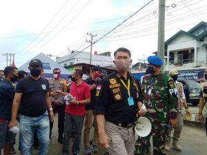 Bawa Toa Ke Pasar, Fasha: Mulai Senin Jika Tidak Pakai Masker Akan Didenda