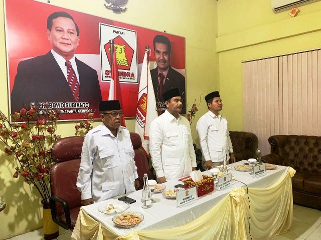 Aspirasi Murni Kader Se-Jambi, SAH Dukung Prabowo Subianto Sebagai Ketua Umum Gerindra