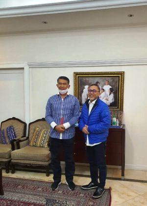 Fasha Bertemu Ketua DPP PAN Zulkifli Hasan, H Rahman: Insya Allah