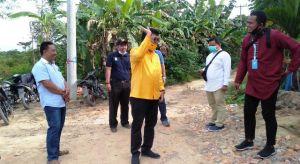 Dorong Aspirasi Masyarakat Mendalo Darat Agar Jalan Lingkungan di Rigid Beton, IW: Ini Tugas Kami
